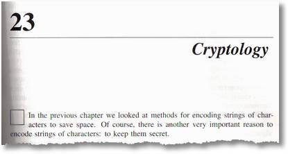 Chapter 23: Cryptology