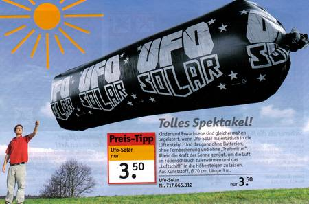 UFO SOLAR &#8211; tolles spektakel fr nur 3 euro 50...